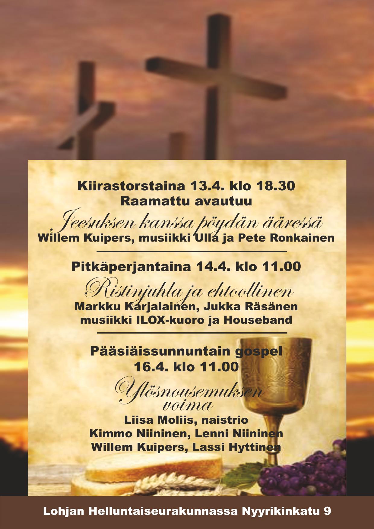 Pääsiäisen ohjelma